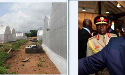 Akufo-Addo Commissions Greenhouse Village