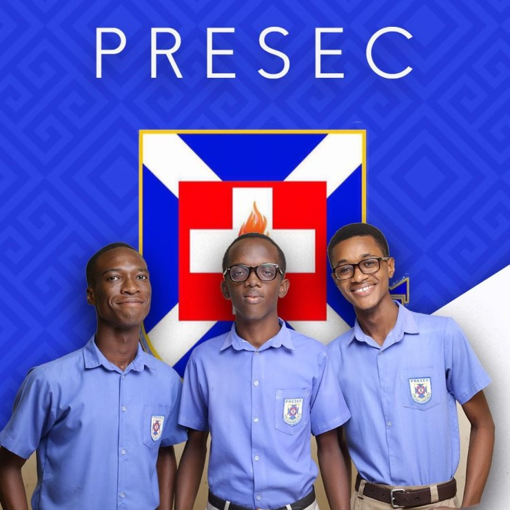Selasie, Nii Amu and Nathaniel (NSMQ 2019)