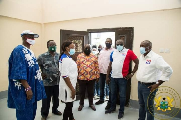 Agyepong was embedded with the Akufo-Addo campaign team