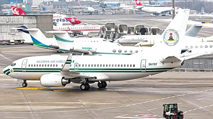 Presidential jet nigeria