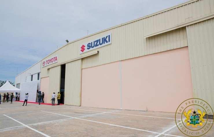 Akufo-Addo Commissions Toyota & Suzuki Vehicle Assembly Plant