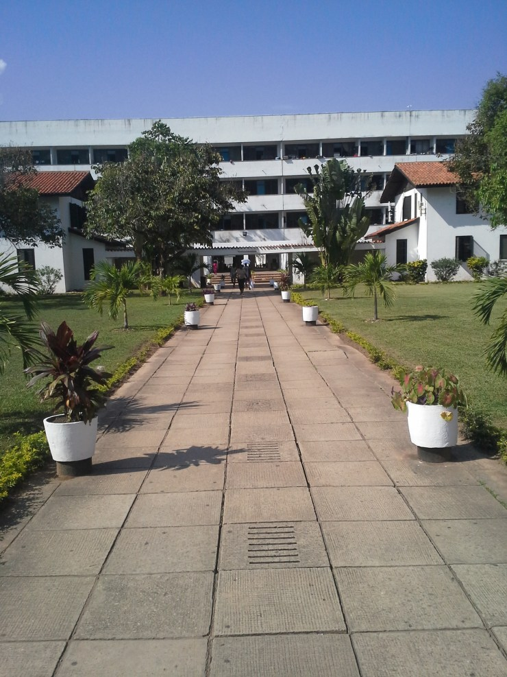 Volta H legonall - traditional halls at the University of Ghana