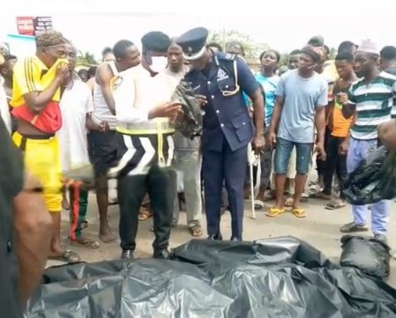 Nursing mother of a 6-month old baby on Okada crushed to death at Kasoa
