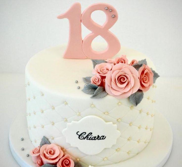 Sur Pinterest 18th Birthday cake