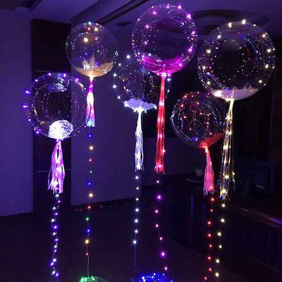Sur Pinterest Detalhes sobre 18″ Led Luminoso Balão Transparente Balões De Festa