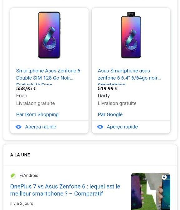 Chez Android : pas cher pour de la haute performance ; le lag c'est du passé PUB