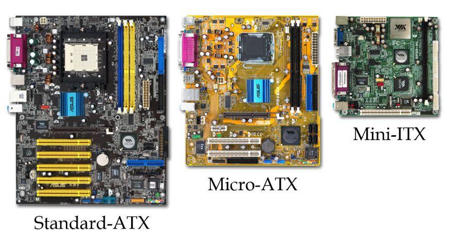 Cartes mères ATX vs MicroATX vs Mini-ITX