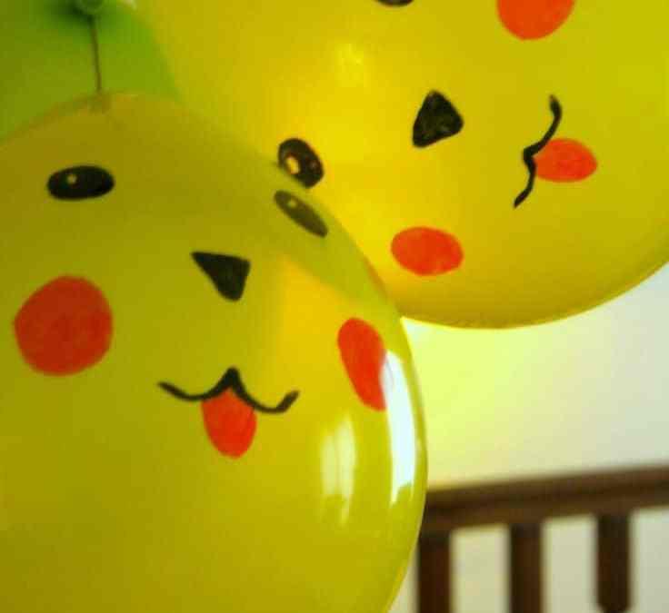 Sur Pinterest les ballons pikachu