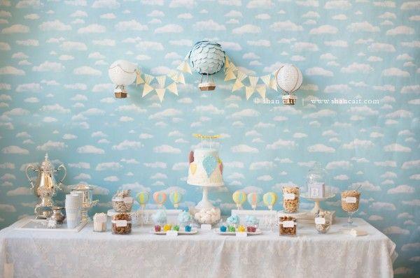 Sur Pinterest Thème de mariage ou d'anniversaire : la montgolfière, le voyage en