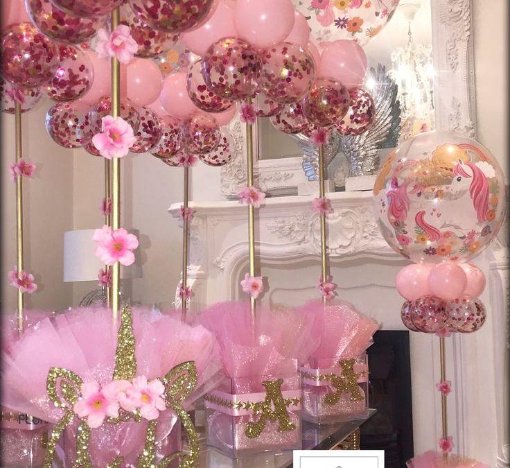 Sur Pinterest Unicorn balloon Centrepiece