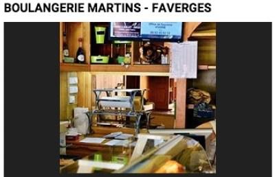Boulangerie Martins - Faverges