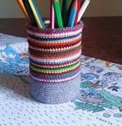 Cache-pot décoration au crochet