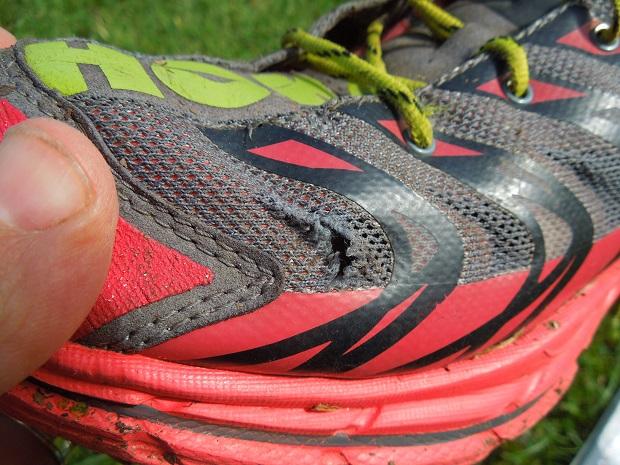 réparer le mesh de ses chaussures
