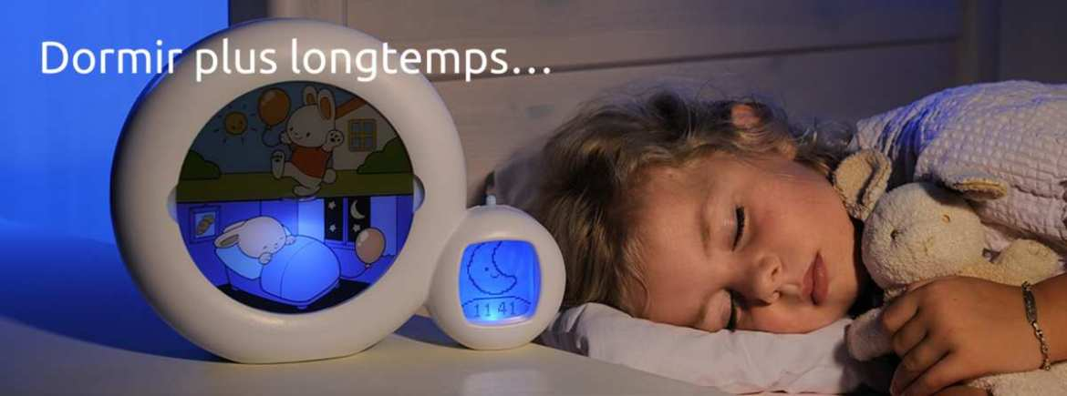Indicateurs de réveil Kid'sleep Moon de Claessens'kids