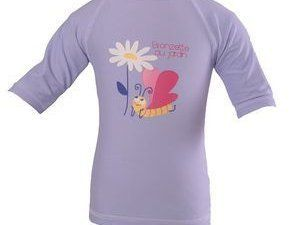 Le T-shirt anti-uv et le chapeau anti-uv accordé Piwapee