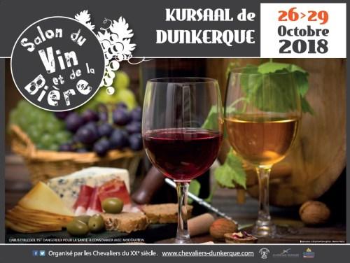 Affiche du Salon du Vin et de la Bière 2018
