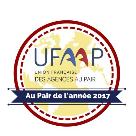 Logo AU PAIR ANNEE 2017