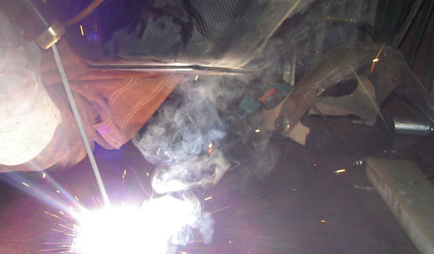 welding off gassing gasses air concerns