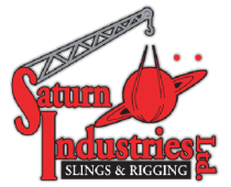 Logo for Saturn Industries Sling lifting load manufacturing