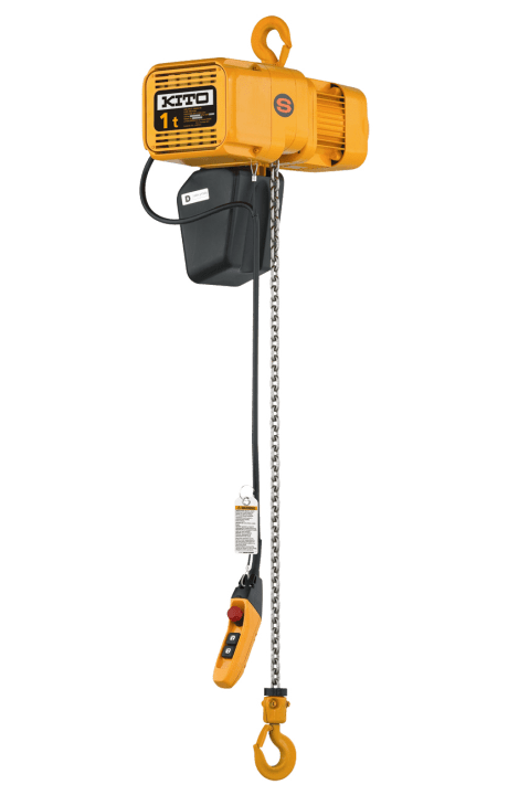 vfd hoist for better breaking and less wear on the hoist