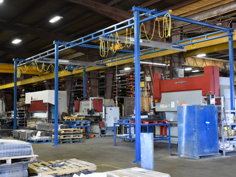 6 column - relocating and expanding existing crane systems for steel processor