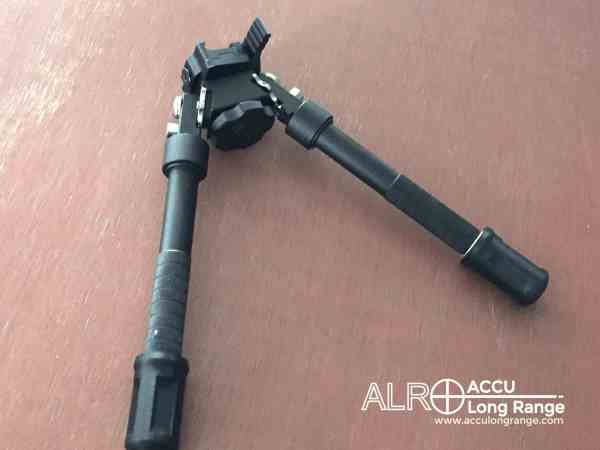 ACCU Long Range ALR-TACv1 Bipod ERFS rapid change foot and foot spike system