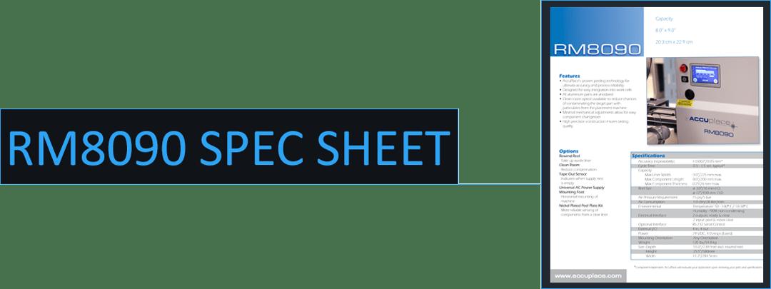 rm8090 spec sheet