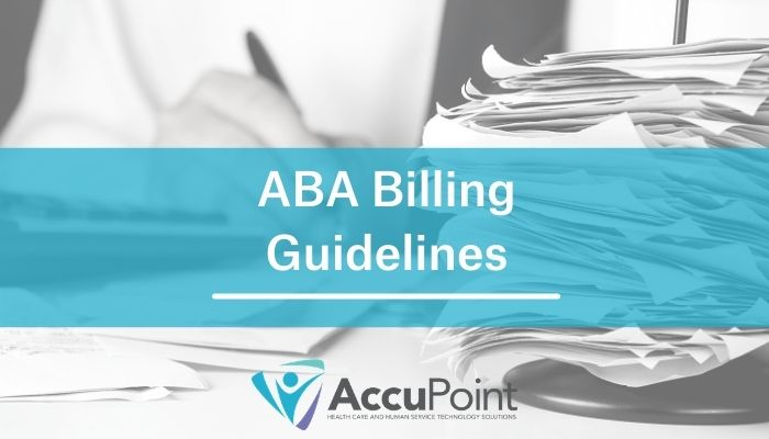 ABA Billing Guidelines