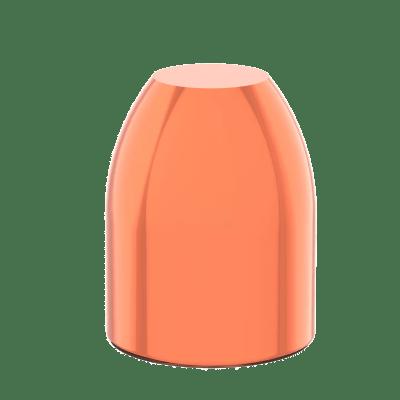 40 caliber 155 grain flat point copper plated bullet reload 10mm