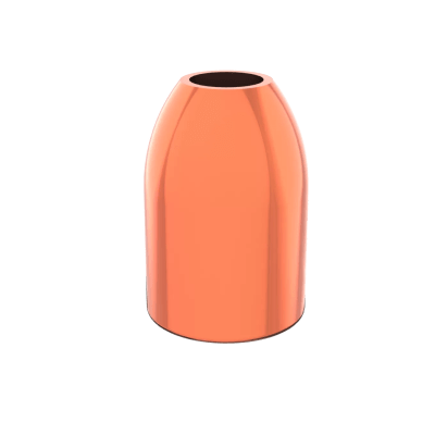40 caliber 180 grain hollow point copper plated bullet 10mm
