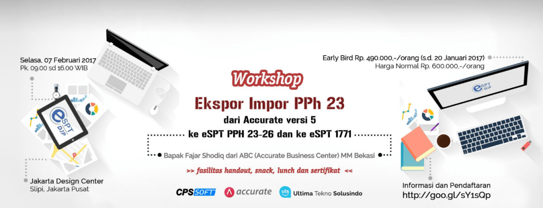 workshop accurate ekspor impor pph23