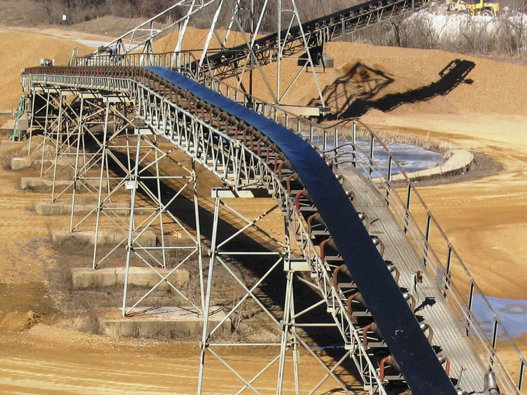 Heavy Rubber Conveyor Belting - Accurate Industrial