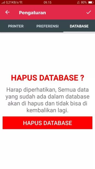 Menghapus Database Accurate Lite 3
