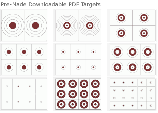Free downloadable targets