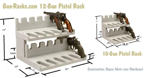 handgun storage options for gun safes