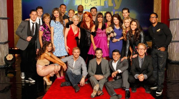 group pic dancing with the stars season 16