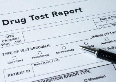 Pre-employment drug testing