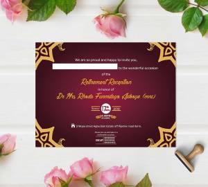 a5 Wedding Invitation Cards