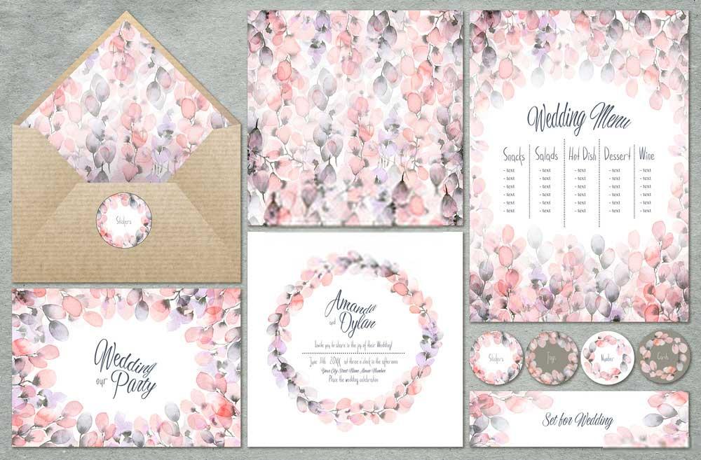 invitation card design samples