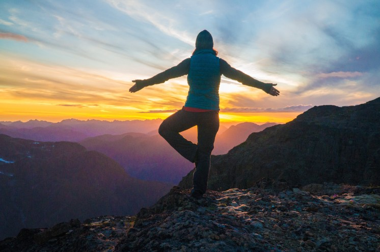 Matthew Breakey - Yoga on Kings Peak