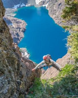 Honourable Mention - Summer Activity: Hunter Lee - Mt. Grattan south face