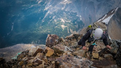 Charles He: Climbing the East Ridge of Edith Cavell