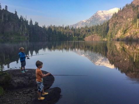Lindsay Warder - Fishing at dawn