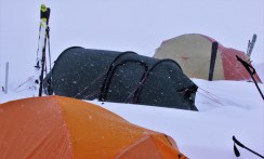 Rick Hudson: blizzard in the Yukon