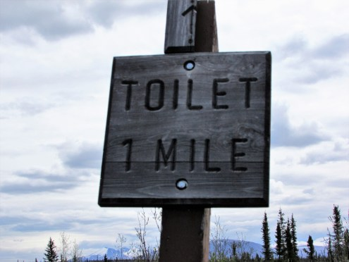 Rick Hudson: Sign in Alaska - 1st Place Humour