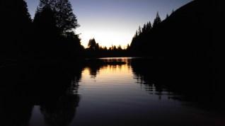 Jules Benson - Sunset at Wolf Lake