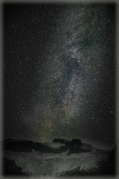 Mary Sanseverino - Milky Way over the Hallam Glacier at the 2018 GMC