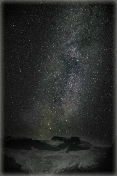 Mary Sanseverino - Milky Way over the Hallam Glacier at the 2018 GMC