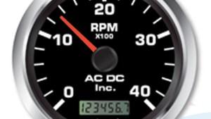 Tachometers (RPM) Gauge