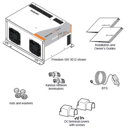 Xantrex 815-3012 Freedom SW Series 3000 Watt Inverter/Charger on